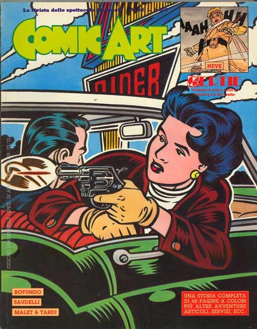 Copertina del n. 68 della rivista Comic Art