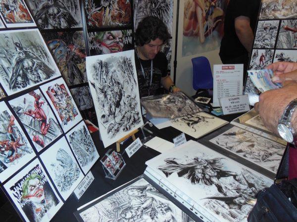 foto di Gianluca Gugliotta ad Etna comics 2017