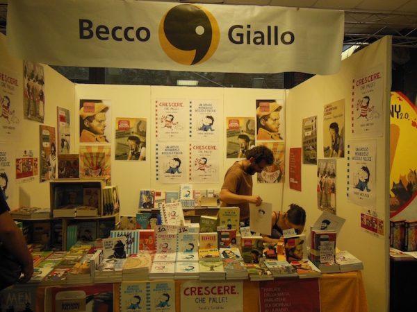 Stand Becco Giallo ad Etna comics 2017