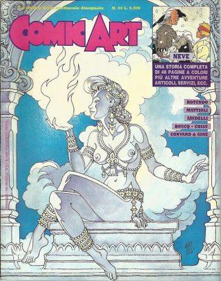 Copertina della rivista Comic Art n. 64