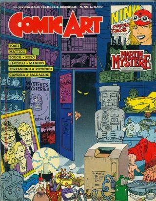 Copertina della rivista Comic Art n. 66