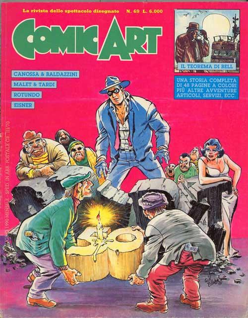 Copertina della rivista Comic Art n. 69