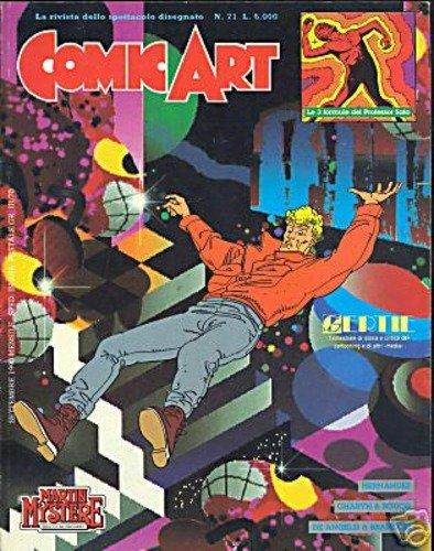 Copertina della rivista Comic Art n. 71
