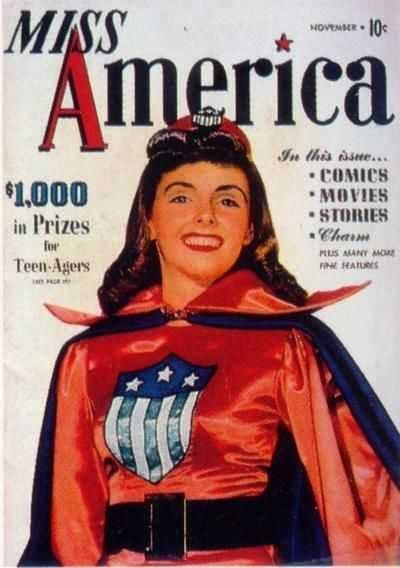 copertina diMiss America Magazine