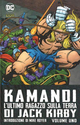 Copertina del volume DC Omnibus KAMANDI, L'ULTIMO RAGAZZO SULLA TERRA di Jack Kirby