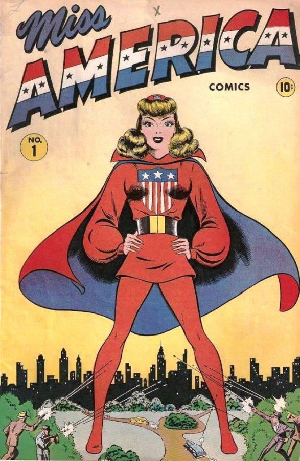copertina di Miss America Comics.
