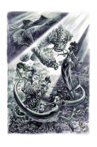 Duncan Fegredo: Hellboy artwork