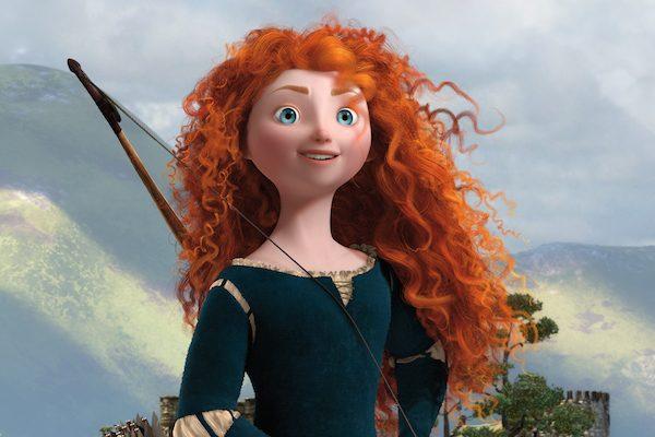 Frame dal film di animazione Brave (Merida)