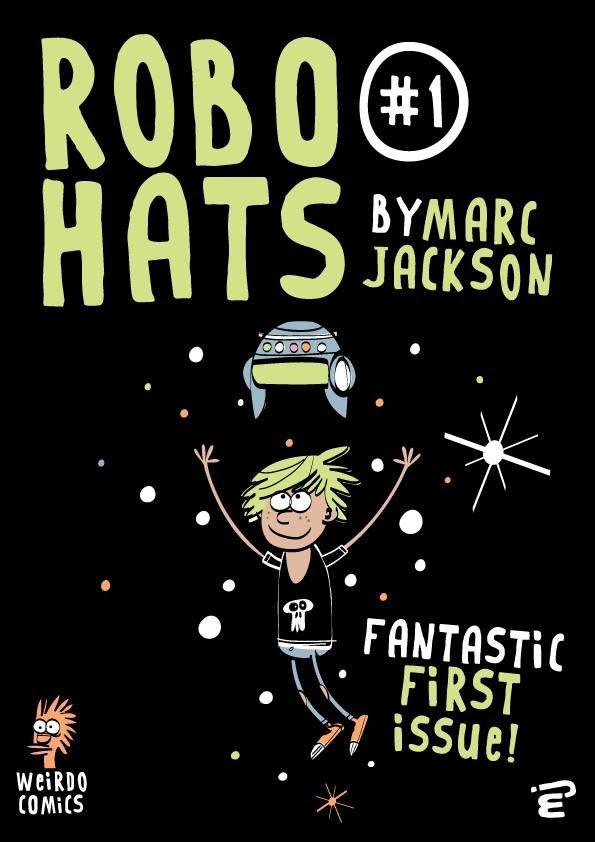 Robo Hats by Marc Jackson
