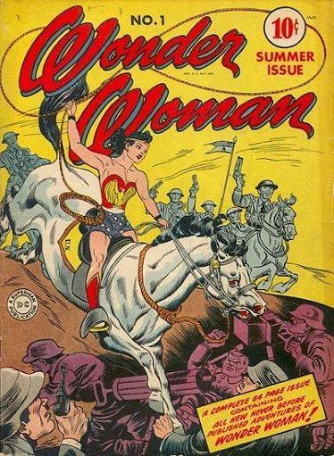 """""""Un'immagine che mostra abbastanza il lato femminista di Wonder Woman""""."""