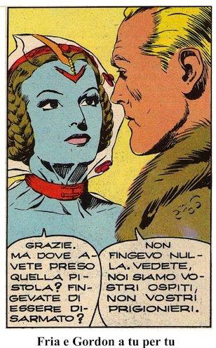 FRIA, la REGINA DELLE NEVI: vignetta 2.