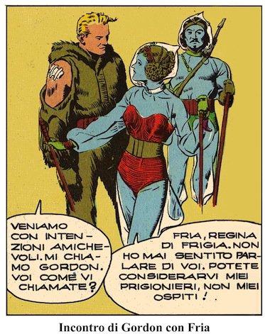 FRIA, la REGINA DELLE NEVI: vignetta 1
