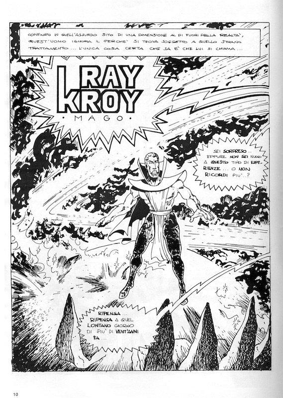 FM_0_1990_pag10: l'inizia di una storia a fumetti di Otello Castellani