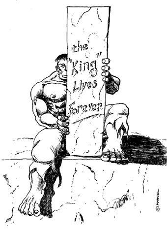 King Lives, Hulk di Otello castellani, Tributo a Jack Kirby del 2000