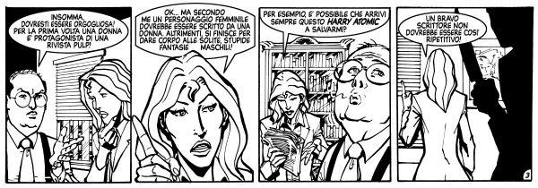 Daniele Tomasi - DEBBIE DILLINGER striscia 3