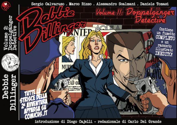 Daniele Tomasi - DEBBIE DILLINGER vol.2, copertina