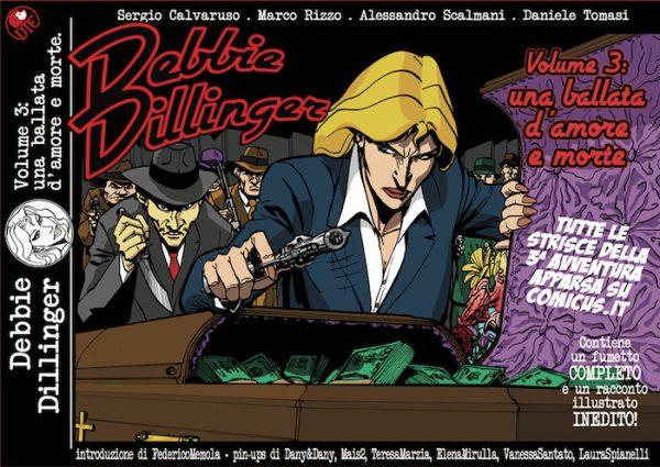 Daniele Tomasi - DEBBIE DILLINGER vol. 3, copertina