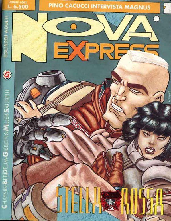 Copertina del n.2 della rivista Nova Express
