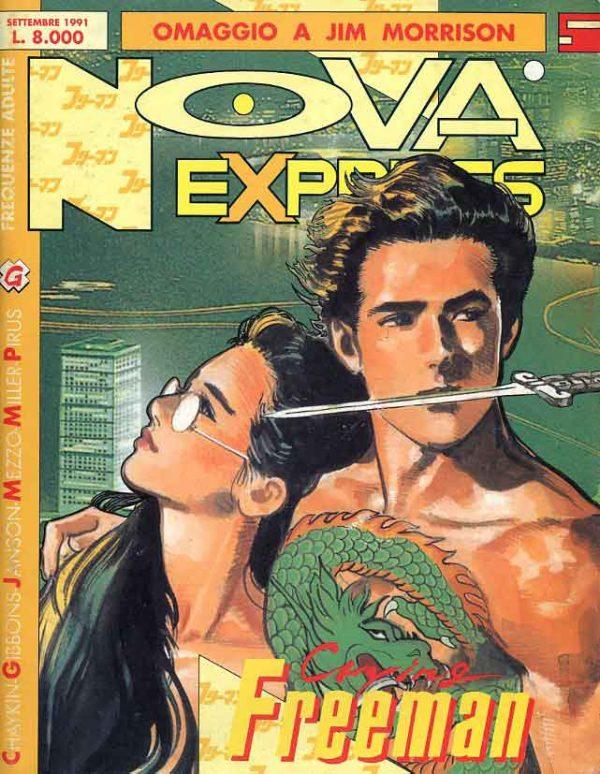 Copertina del n. 5 della rivista Nova Express