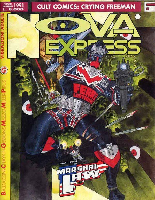 Copertina del n. 6 della rivista Nova Express