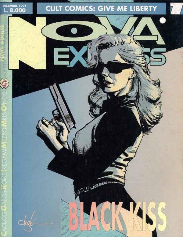 Copertina del n. 7 della rivista Nova Express