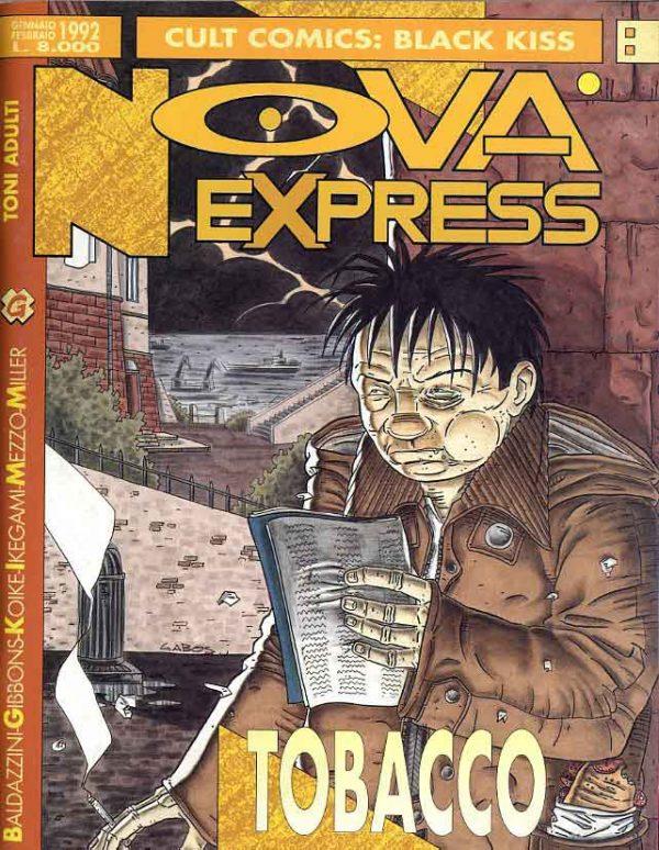Copertina del n. 8 della rivista Nova Express