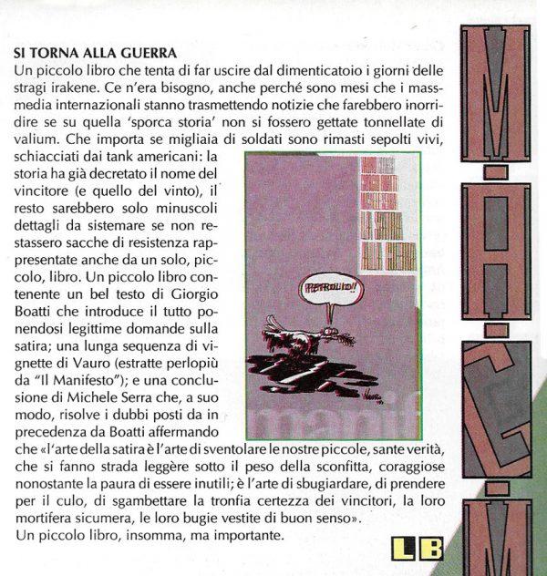 Altra Recensione scritta da Luigi Bernardi dal n. 6 della rivista Nova Express