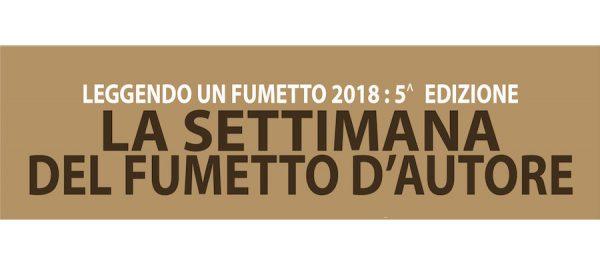 BANNER DEL PROGETTO LEGGENDO UN FUMETTO ED. 2018