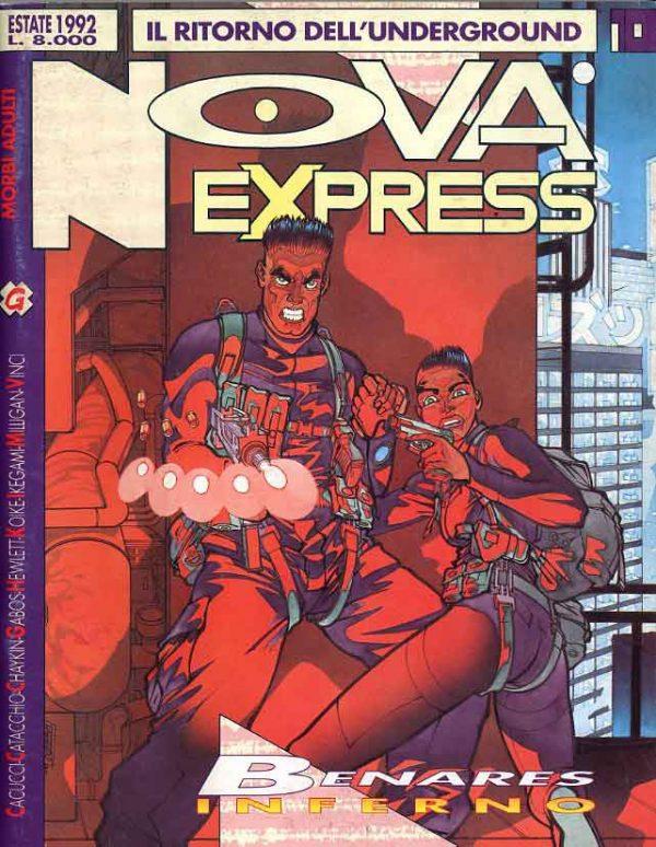 Copertina del n.10 della rivista Nova Express