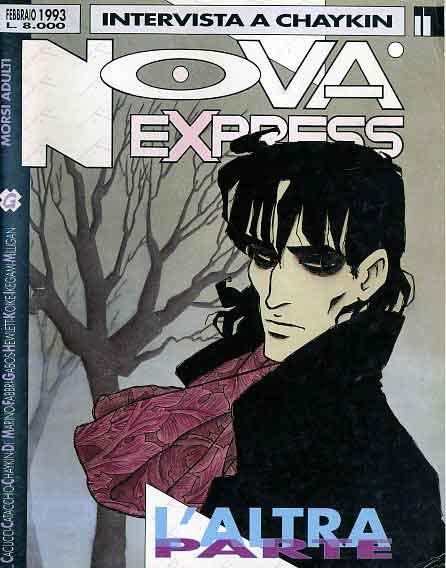 Copertina del n. 11 della rivista Nova Express