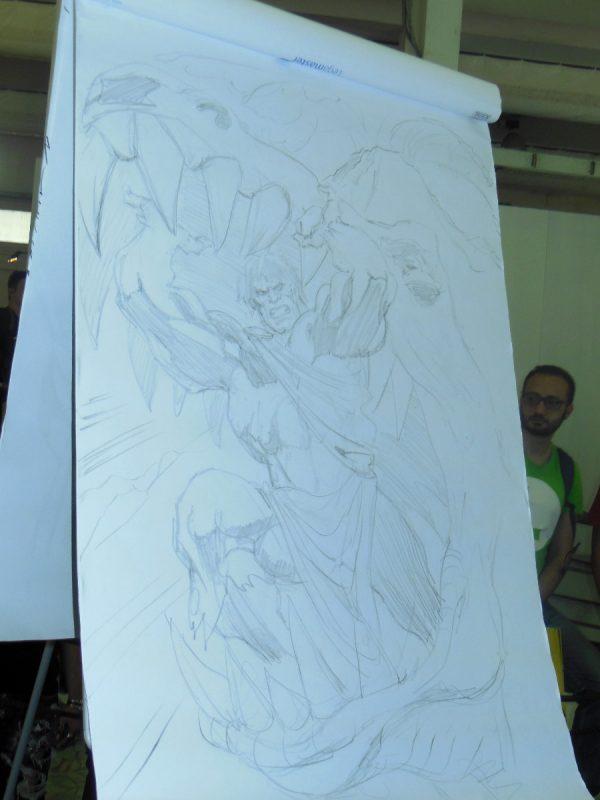 Il disegno a matita di Claudio Castellini