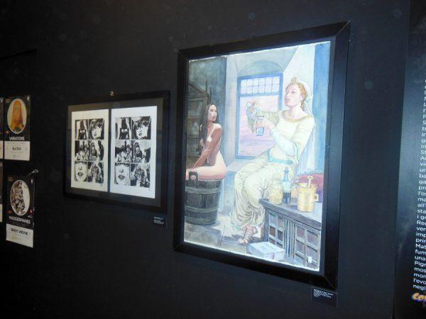 1998 – 2018: 20 anni di fumetto italiano  – Com'è cambiato il fumetto italiano negli ultimi vent'anni. alcune tavole a fumetti
