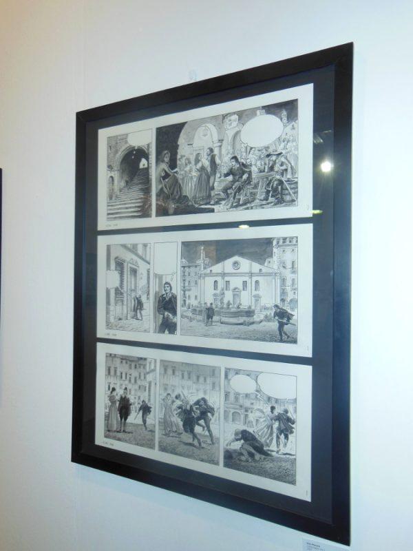 1998 – 2018: 20 anni di fumetto italiano  – Com'è cambiato il fumetto italiano negli ultimi vent'anni. tavola a fumetti di milo Manara