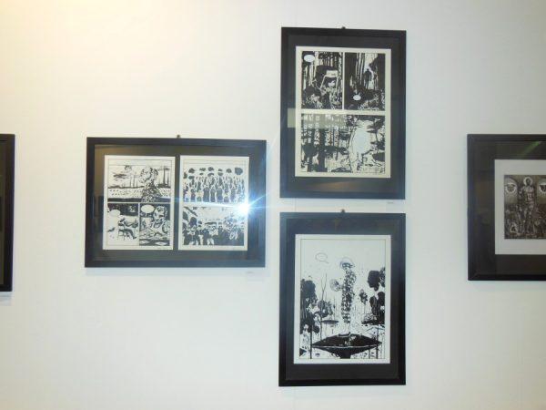 alcune opere esposte nella mostra FUTURO ANTERIORE… POSTERIORE: 20 ANNI FA –