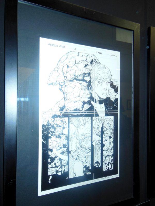 tavola a fumetti con Ben Grimm, La Cosa, tratto da 1998 – 2018: 20 anni di COMICON