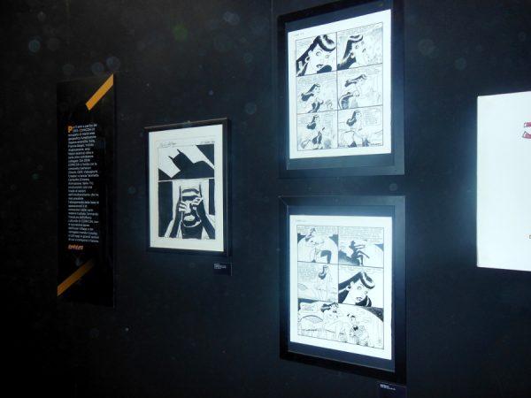 Ancora delle tavole tratte dalla mostra 1998 – 2018: 20 anni di COMICON