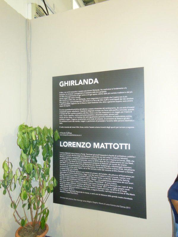 GHIRLANDA: omaggio a Lorenzo Mattotti