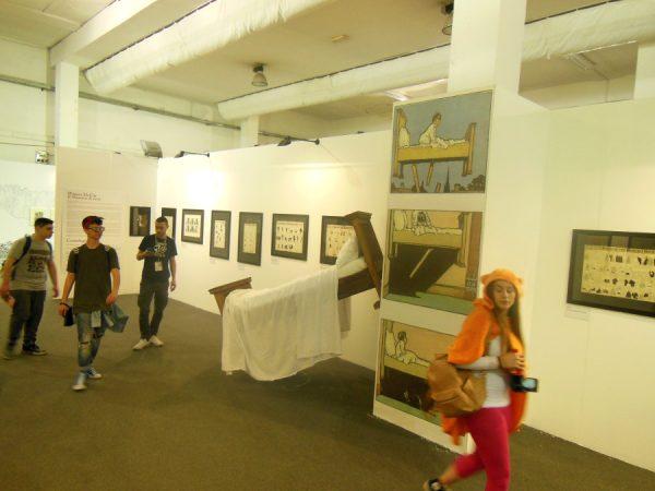 vista di una piccolaparte della mostra UN MAESTRO DEGLI ALBORI: Winsor McCay