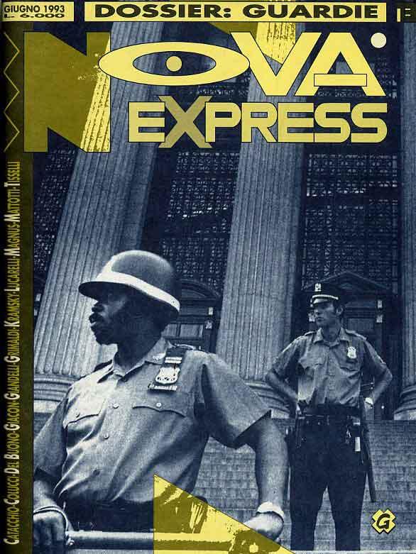 Copertina del n. 13 della rivista Nova Express