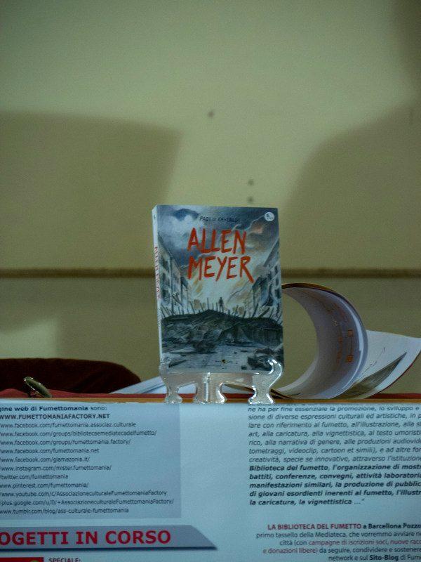Foto del romanzo a fumetti Allen Meyer