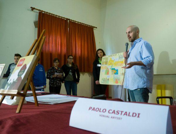 L'INCONTRO con PaoloCastaldi a Barcellona pozzo di gotto, lo scorso 27 aprile 2018