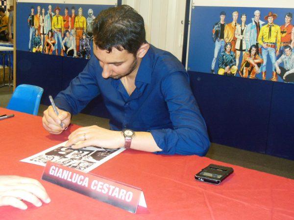firma copia stampa per Raul Cestaro