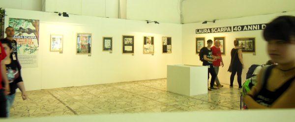 """la mostra """"LAURA SCARPA: 40 anni da fumettista"""""""