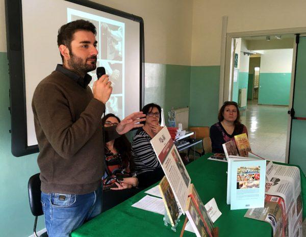 Lelio Bonaccorso, incontra gli studenti dell'Istituto Scolastico Comprensivo di Santa Lucia del Mela