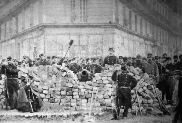 foto delle barricate