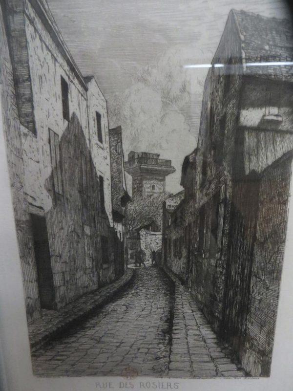 foto di una via di Parigi