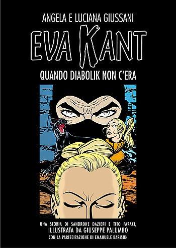 "Copertina del volume ""Eva Kant, Quando Diabolik non c'era"""