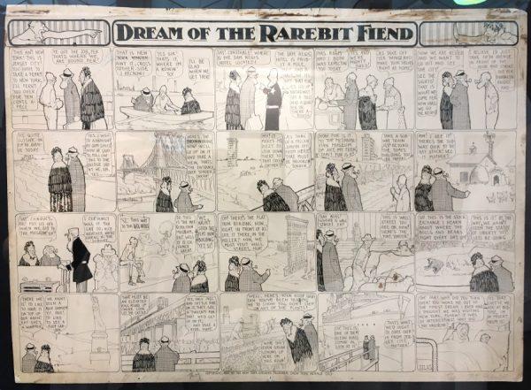 """foto 6 della mostra """"Winsor McCay, Il maestro di tutti"""": DREAM OF THE RAREBIT FIEND"""