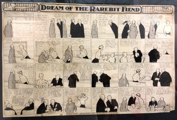 """foto 7 della mostra """"Winsor McCay, Il maestro di tutti"""": DREAM OF THE RAREBIT FIEND"""