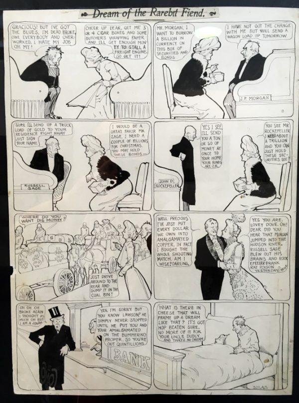 """foto 9 della mostra """"Winsor McCay, Il maestro di tutti"""": DREAM OF THE RAREBIT FIEND"""